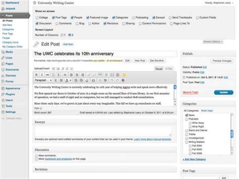 wordpress university