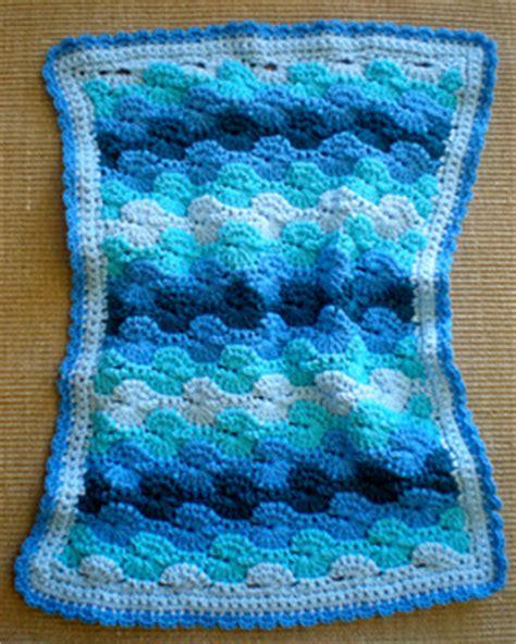 small ocean waves crochet blanket in beautiful blues ravelry crochet baby blanket ocean waves quick cozy