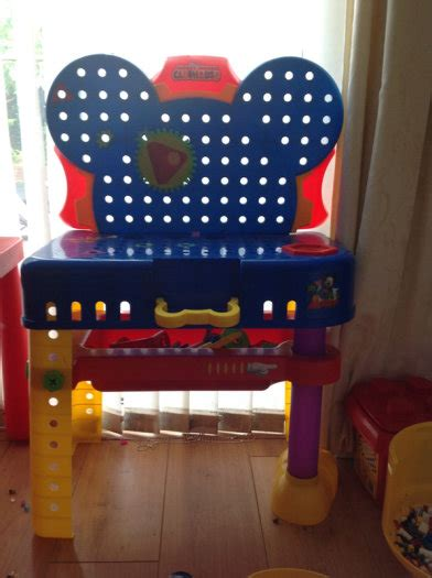 mickey mouse work bench mickey mouse clubhouse workbench for sale in donabate