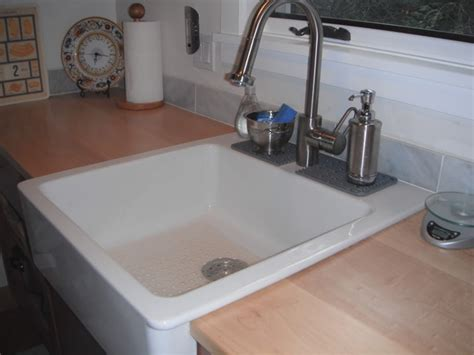drop in farm sink choose sleek and shiny texture drop in farmhouse sink for