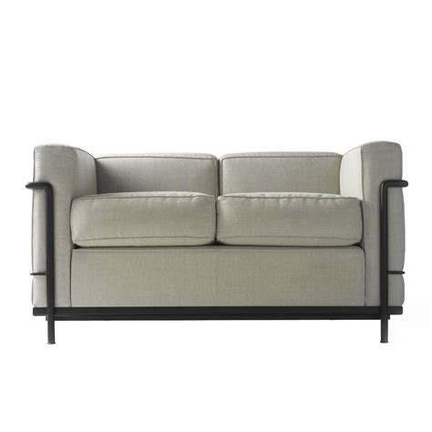 lc2 sofa lc2 sofa designer modern soft seating apres furniture