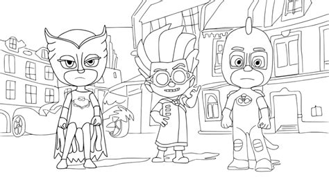 cat boy coloring page catboy free coloring pages