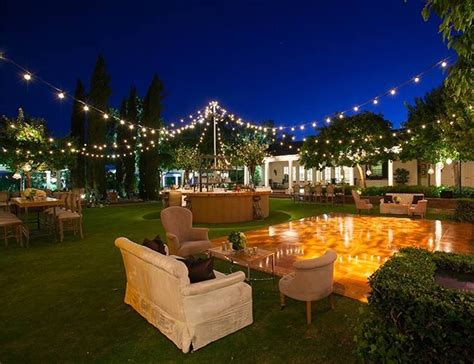 Outdoor Bistro Lights Create A Backyard Cafe With Bistro Lights Yard Envy
