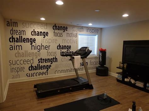 wallpaper for gym walls 23 best images about fitness decor ideas on pinterest
