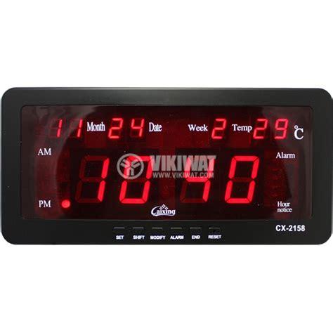 Led Digital Clock led digital clock cx 2158 vikiwat