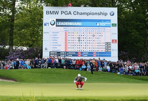 bmw golf leaderboard european tour 2017 bmw pga chionship live leaderboard