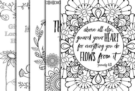 inspirational bible coloring pages 12 bible verse coloring pages instant download value bundle