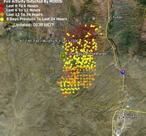 update on arizona fires june 7 2011 wildfire today
