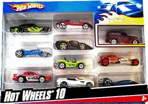Hot Wheels 10 Car Pack 3