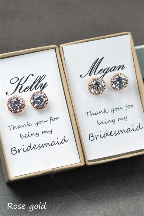 Wedding Gift Jewelry Ideas by Bridesmaid Jewelry Gift Ideas Weddceremony