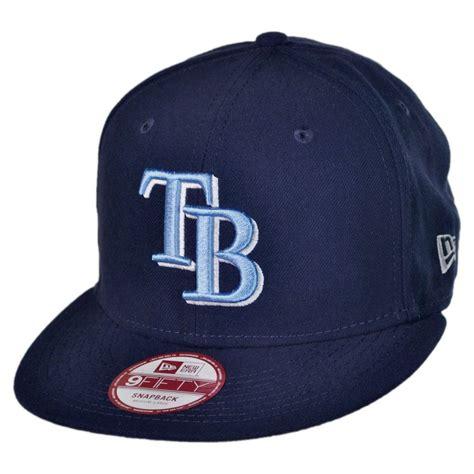 new era ta bay rays mlb 9fifty snapback baseball cap