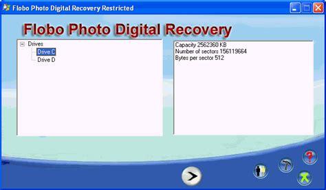 digital photo recovery flobo photo digital recovery descargar