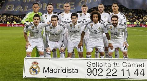 imagenes del real madrid jugadores 2015 el real madrid favorito junto a alemania y mercedes al