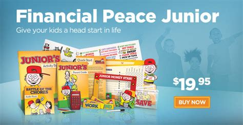 financial peace junior kit teaching how to win with money brown s balanced graduating from fpu