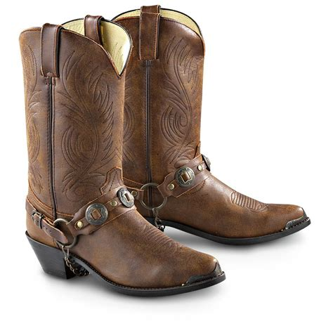 s boots s durango boot 174 concho western boots brown