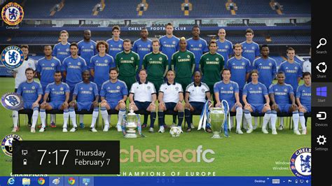 Chelsea Edition 02 chelsea fc 2013 theme for windows 8 ouo themes