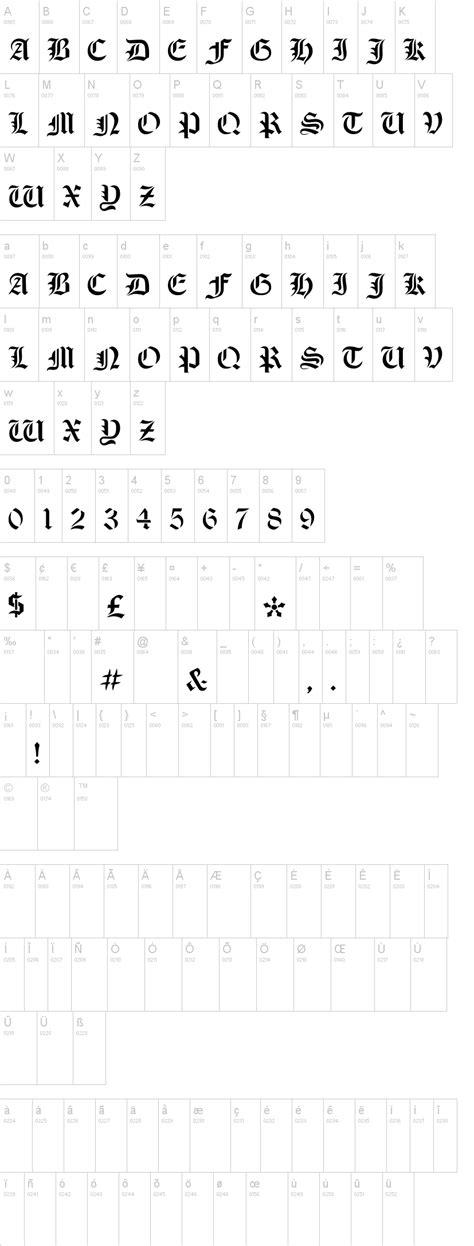 dafont old english olde stencil font dafont com