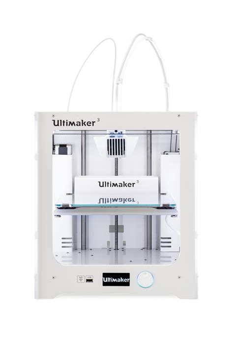 Printer 3d Ultimaker ultimaker s new ultimaker 3 dual extrusion 3d printer