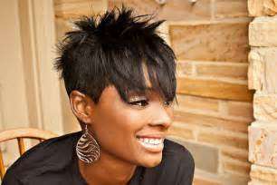 spick hair sytle for black 21 short and spiky haircuts for women styles weekly