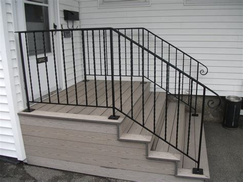 railings and banisters ideas simple iron railing designs railing stairs and kitchen