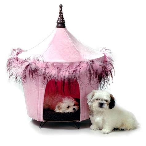 dog tent bed posh pink dog bed tent with same day shipping baxterboo