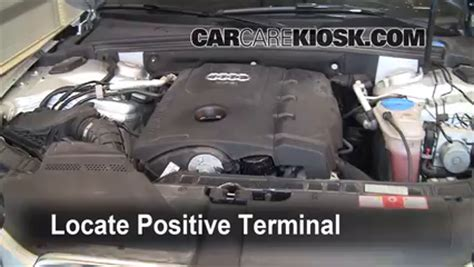 audi a2 battery location how to jumpstart a 2009 2016 audi a4 quattro 2009 audi