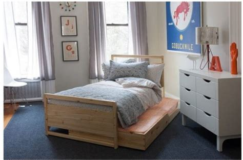 what is a trundle bed brookline bunks in white inhabitots