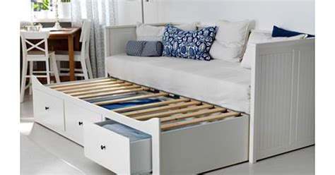 Hemnes Daybed Frame With 3 Drawers White Reviews by Hemnes Daybed Frame With 3 Drawers White Meistervik Firm White Meistervik Firm