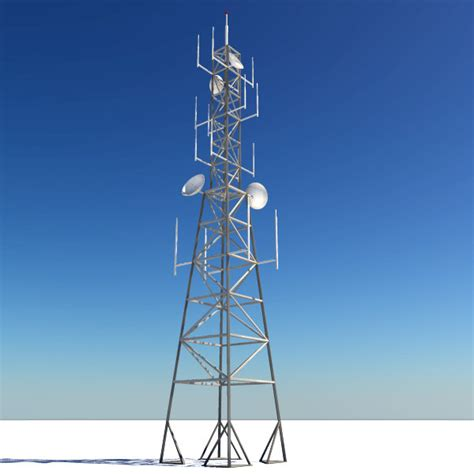 radio tower 3d radio tower model