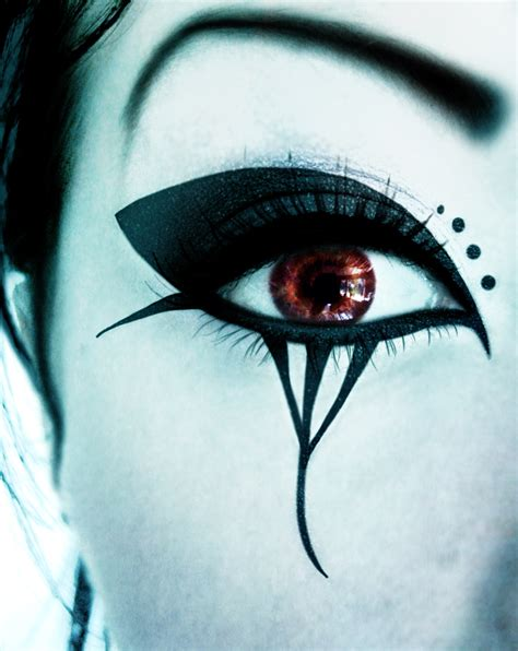 death rock makeup deathrock make up ii by darkasteria on deviantart