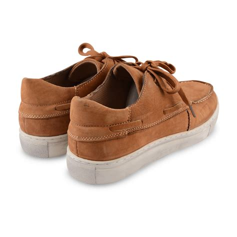 mens boat shoes casual deck loafers mocassin smart boat