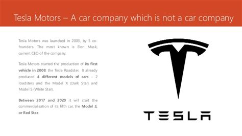 Tesla Brand Positioning Marketing Positioning Tesla Positioning A Product