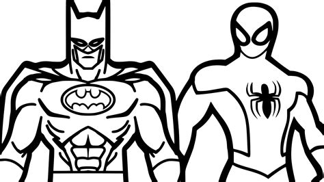 spiderman symbol coloring page coloriage spiderman et batman 224 imprimer sur coloriages info