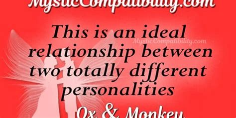 ox monkey compatibility mystic compatibility