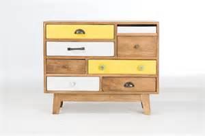 Commode Chambre Pas Cher #1: commode-design-bois-multi-tiroirs.jpg