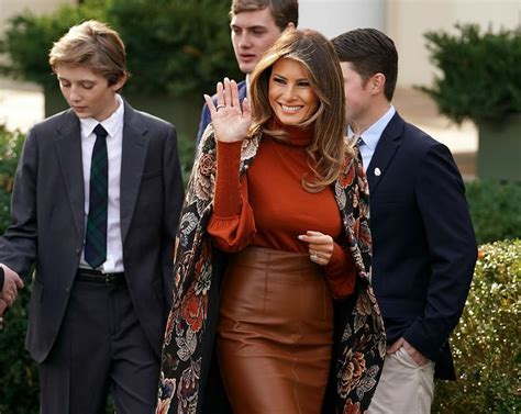 why can t melania wear a coat properly