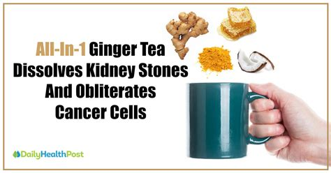 How Can I Detox My Liver And Kidneys by Drink This All In 1 Tea To Dissolve Kidney Stones