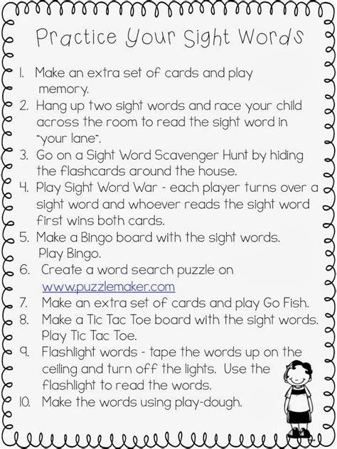 Words Their Way Parent Letter Kindergarten 145 Best Images About Kindergarten Sight Words On Words Student And Activities