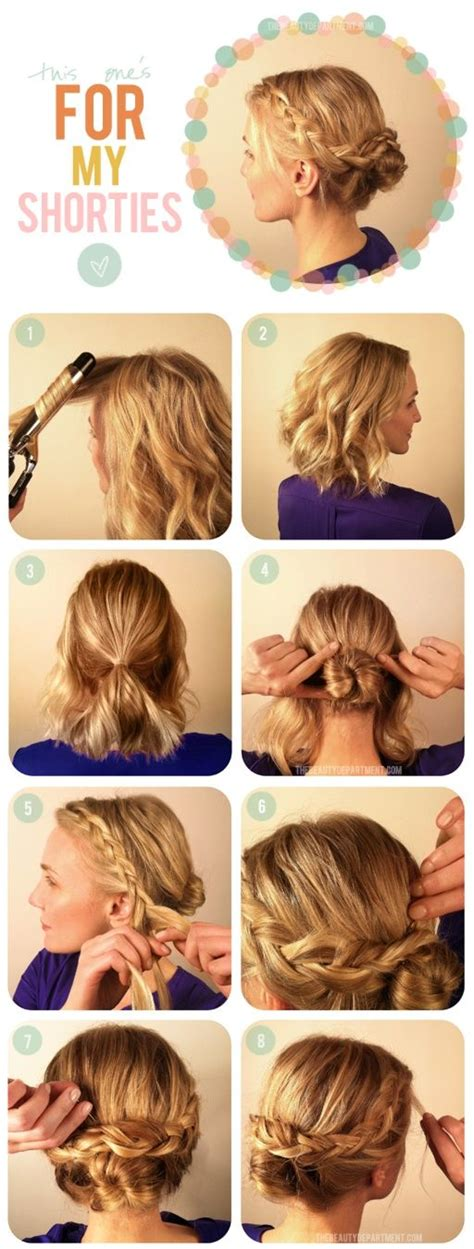 step by step directions for styling short hair short hair style step by step hairstyles step by step