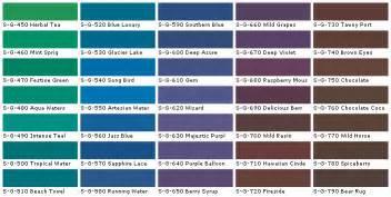 Chart behr colors behr interior paints behr house paints colors