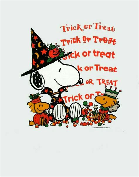 Baju Trick Or Treat Graphic 7 Kaos Tshirt Oceanseven 17 best images about snoopy peanut on peanuts snoopy snoopy and