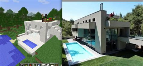 moden house moden house minecraft project