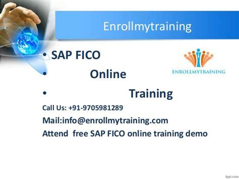 sap tutorial training sap fico online training