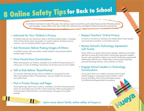 8 Safety Tips For by 8 Safety Tips For Back To School Hueya