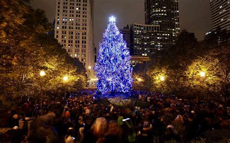 chicago tree lighting 2017 tree lighting chicago 2017
