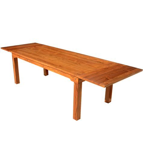 modern extension dining table simply modern solid teak wood dining table w extensions