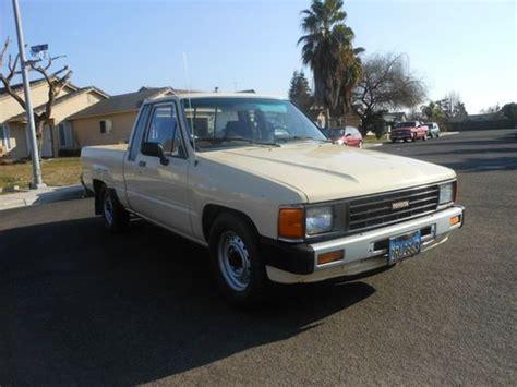 Toyota Truck Diesel Sell Used 1985 Toyota Turbo Diesel 90k