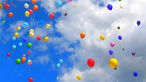 colorful balloons wallpaper colorful balloons wide hd wallpaper for desktop background