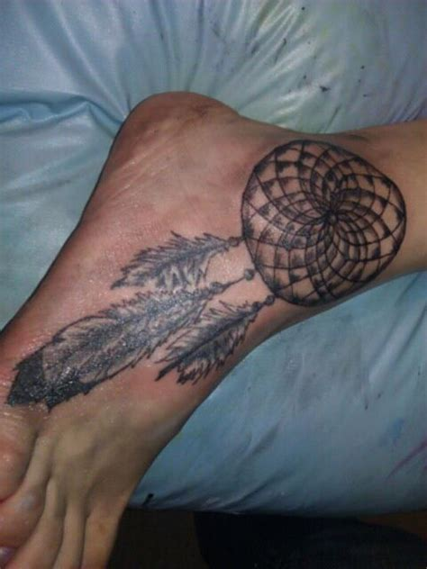 dream catcher tattoo on ankle ankle tattoos and designs page 226