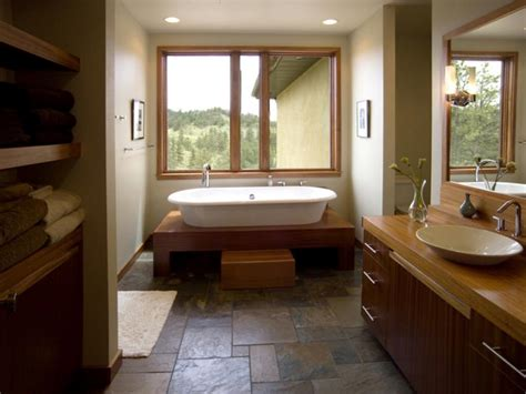 natural look is popular trend in bathroom makeovers bathroom flooring styles and trends hgtv
